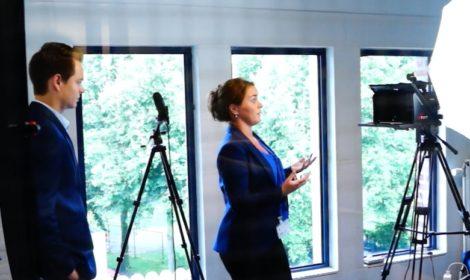 foto mediatraining door Videoroom