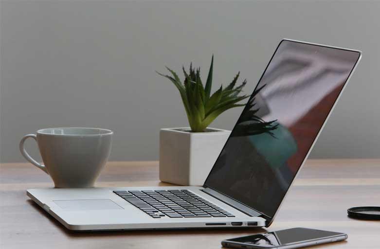 Videoroom koffie met mac